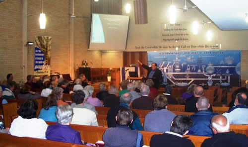 Photo of Awake To Israel monthly meeting